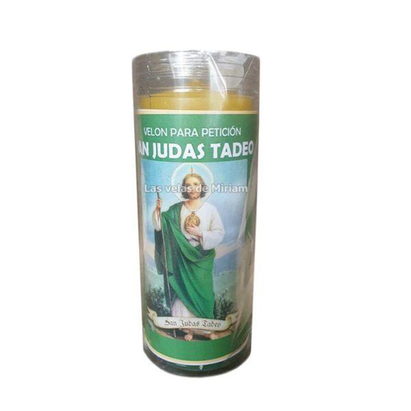 Velón de oración con aceite San Judas Tadeo