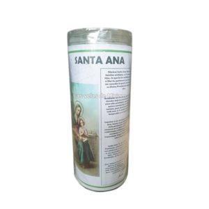 Velón de oración con aceite Santa Ana