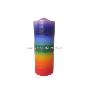 Velón 7 Colores 7 Chakras