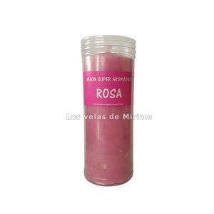 Velón de rosa