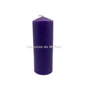 Velón lila oscuro
