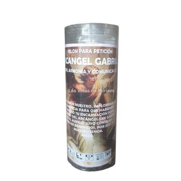 Velón de oración con aceite Arcángel Gabriel