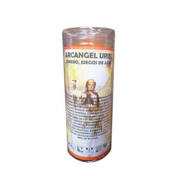 Velón de oración con aceite arcángel Uriel