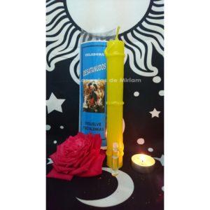 Veladora Virgen Desatanudos Amarilla