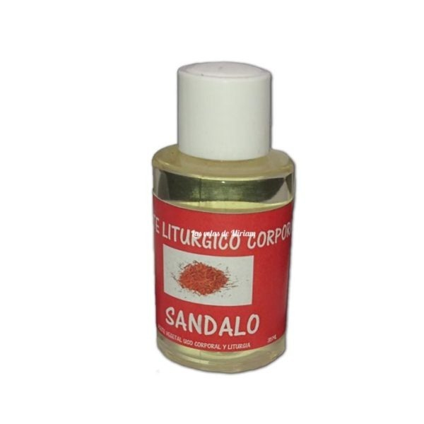 Aceite Sándalo