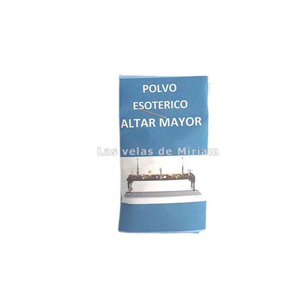 Polvo Esotérico Altar Mayor