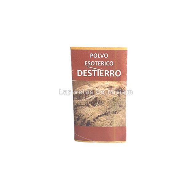 Polvo Esotérico Destierro