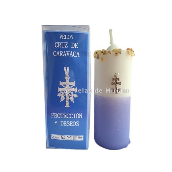 Velón preparado cruz de Caravaca