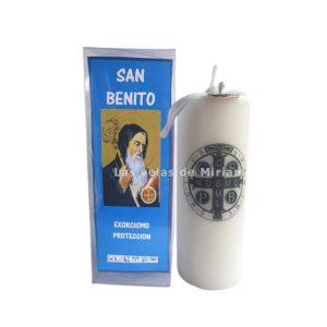 Velón preparado San Benito Blanco