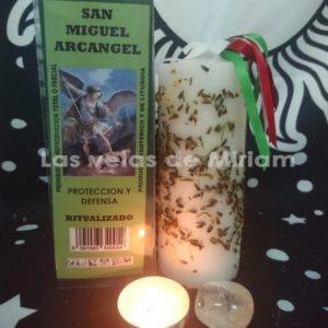 Velón Preparado Arcángel Miguel