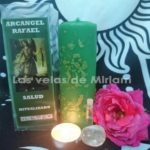 Velón Preparado Arcángel Rafael
