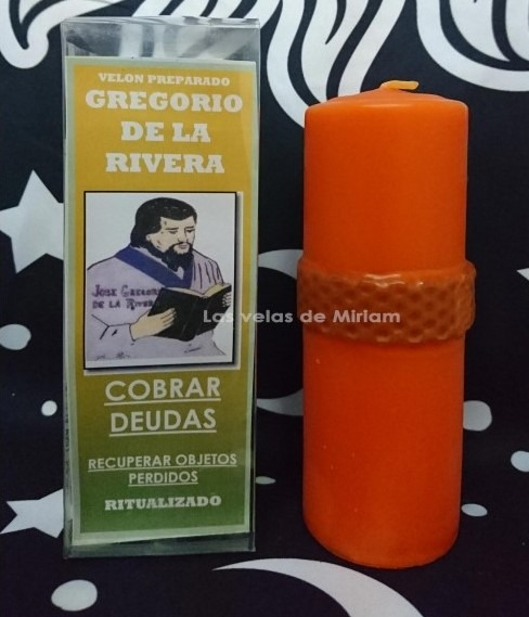 Velón Preparado Gregorio De La Rivera