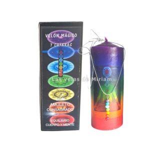 Velón mágico 7 Chakras