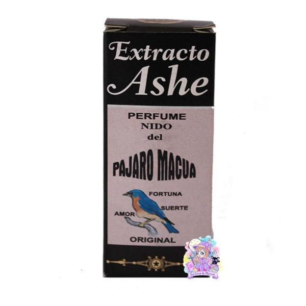 Extracto Ashe pájaro macua