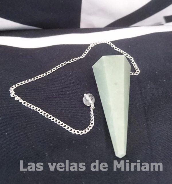 Péndulo Cuarzo Verde