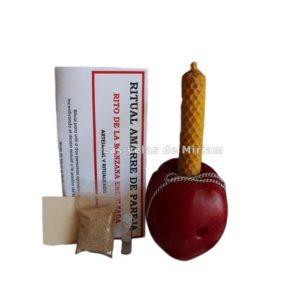 Ritual endulzamiento manzana