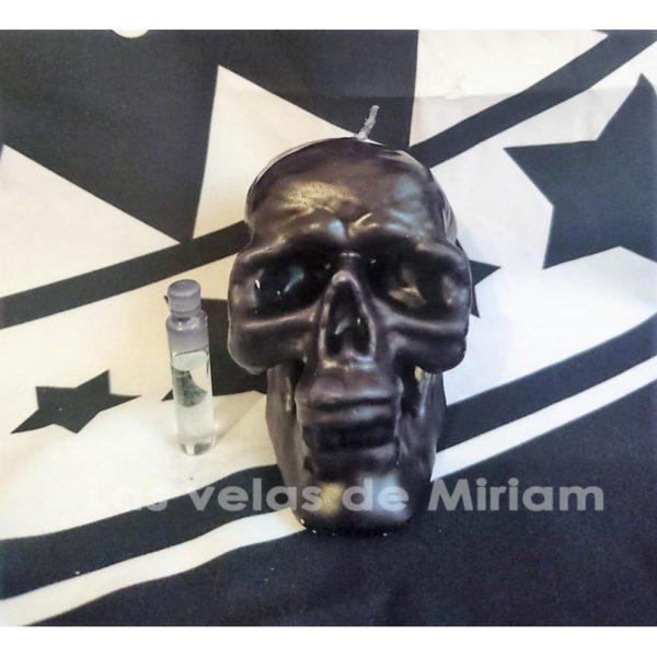 Ritual Calavera Negra Triple Efecto Reventador