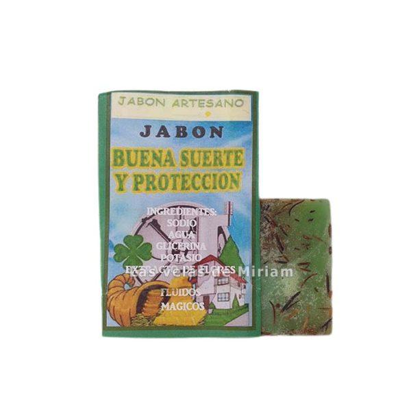 Pastilla Jabón buena suerte y protección