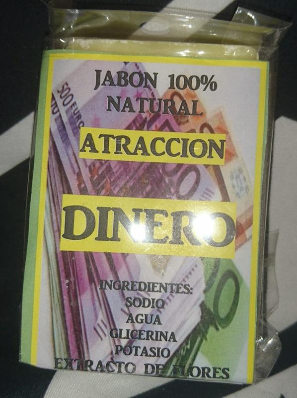Pastilla de Jabón atracción dinero