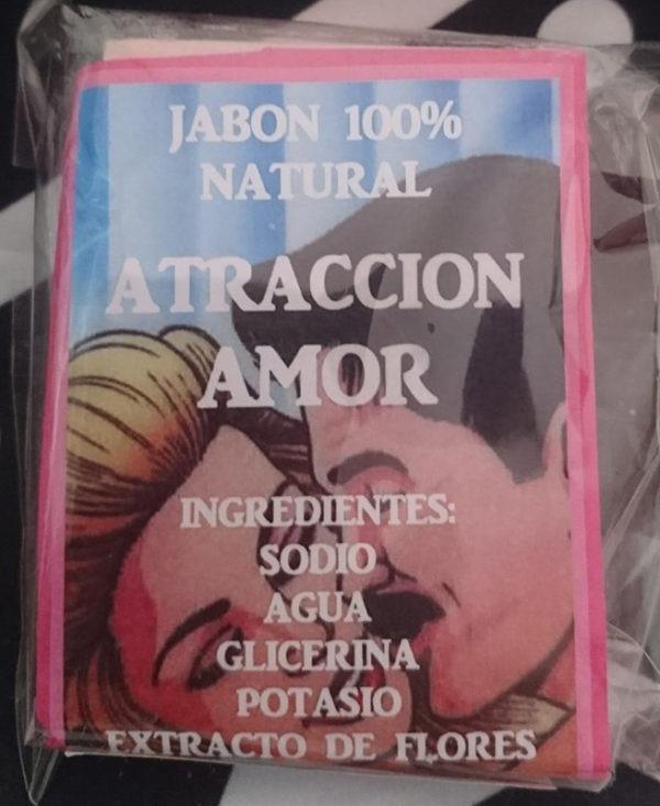 Pastilla de Jabón atracción amor