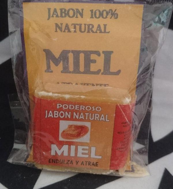 Pastilla de Jabón miel