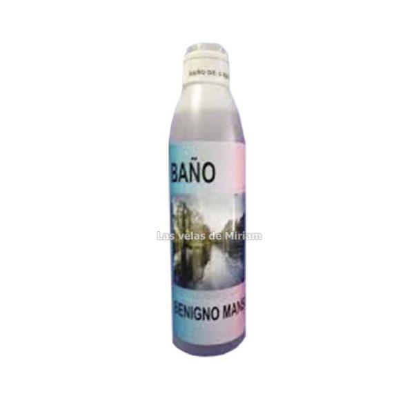 Baño jabonoso benigno manso