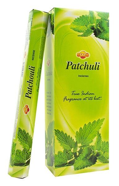 Incienso Pachuli 120 varillas