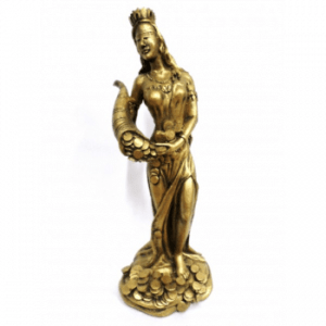 Diosa fortuna dorada