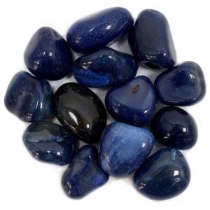Ágata azul cantos rodados