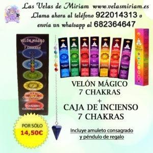 Pack 7 chakras