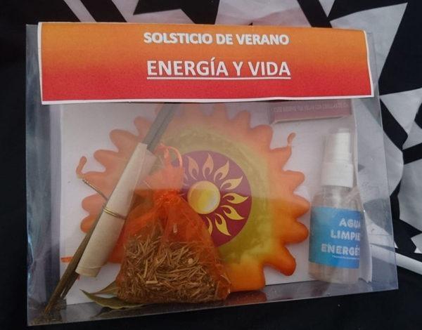 Ritual solsticio de verano energía y vida