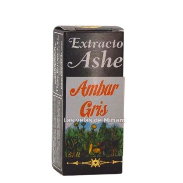 Extracto Ashé ámbar gris