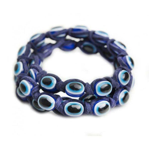 Pulsera Ojo Turco cordón azul