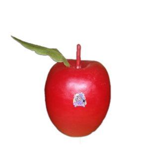Figura cera manzana