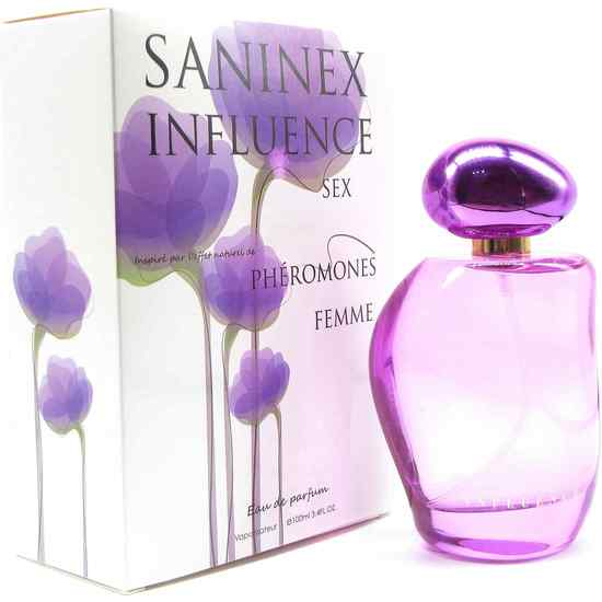 perfume feromonas Saninex Influence sex women.