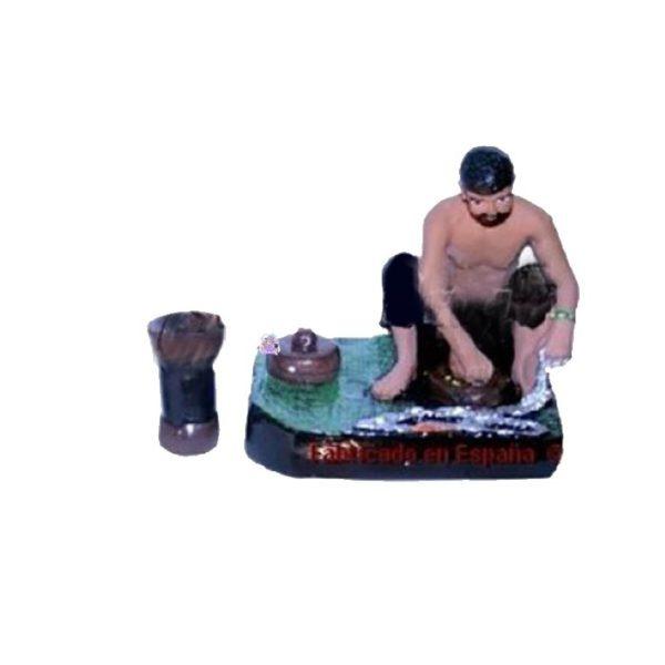 Figura altar de orula de 3 piezas