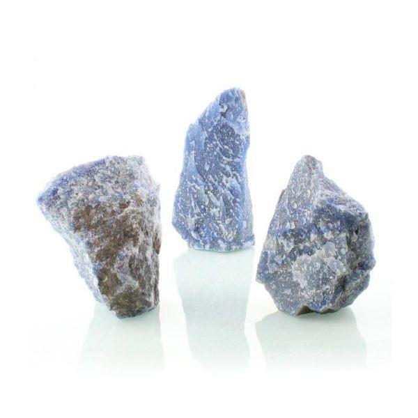 Cuarzo azul en bruto