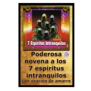 Novena a los 7 espíritus intranquilos