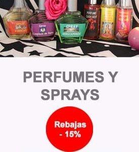 Perfumes y Sprays