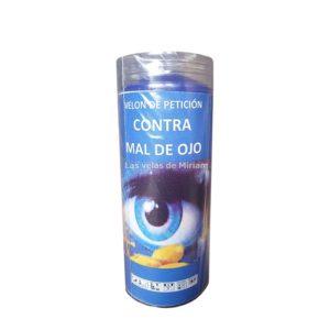 Velón de oración con aceite contra mal de ojo