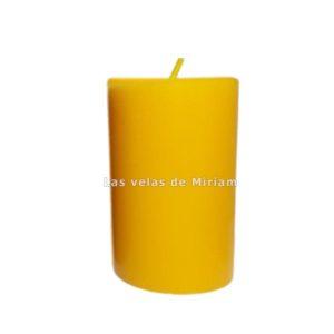 Velón rustico amarillo