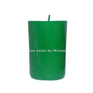 Velón rustico verde