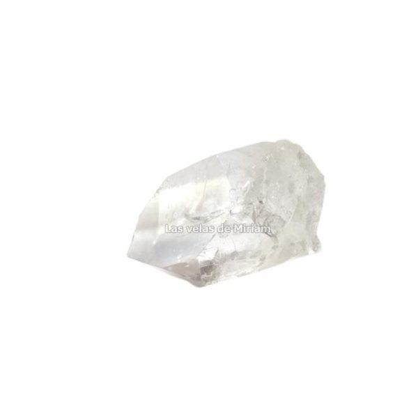 Punta cuarzo cristal en bruto