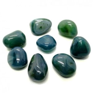 Ágata verde azulada