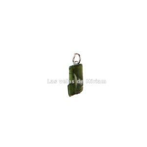 Colgante turmalina verde en bruto