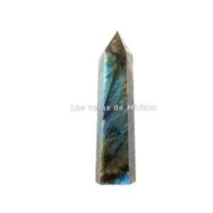 Puntas obelisco mineral labradorita