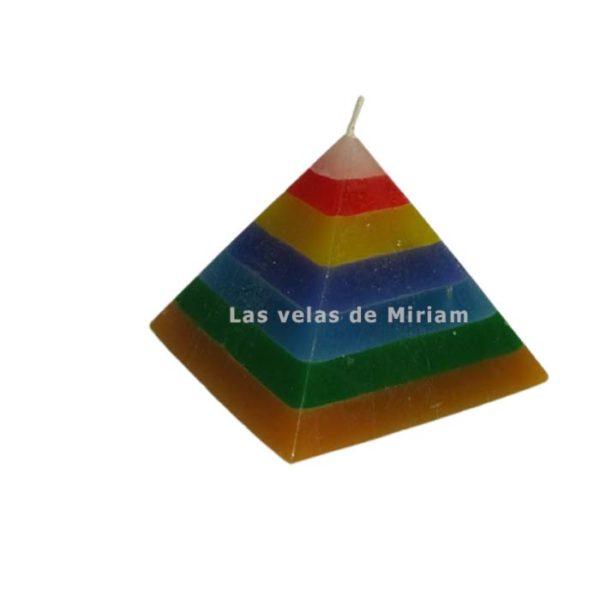 Pirámide 7 colores