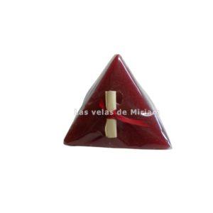 Pirámide deseos roja