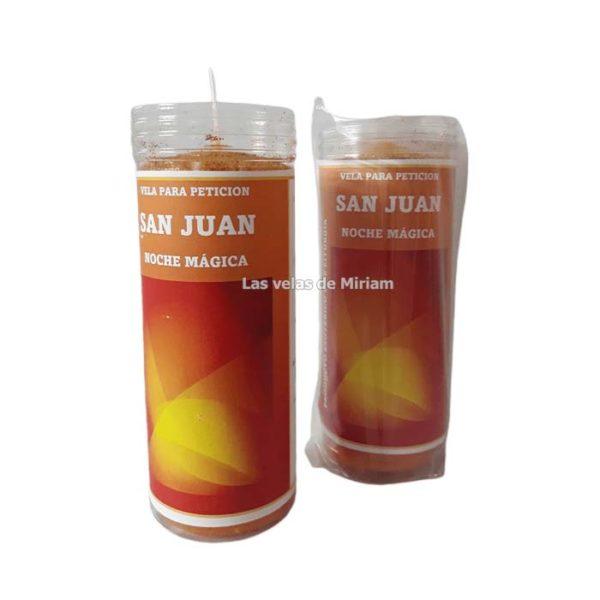 Velón de oración con aceite San Juan noche mágica