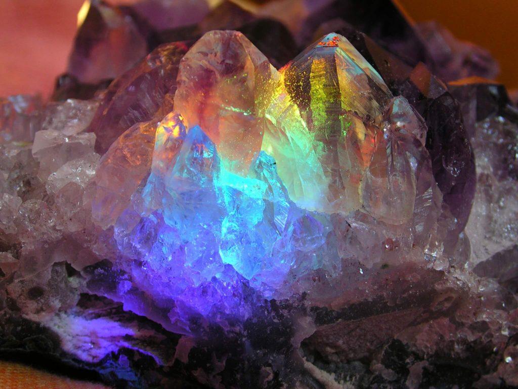 Programar cristales o piedras